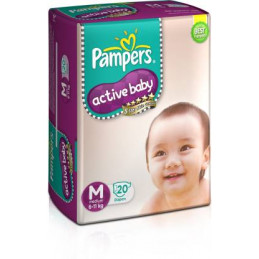 P&G Pampers Active Baby...