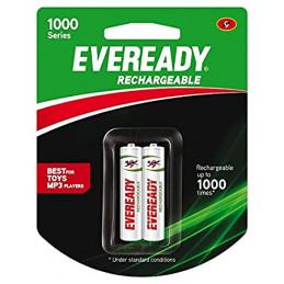 एवरेडी रिचार्जेबल एएए बैटरी...