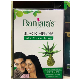 Banjara's black henna aloe...