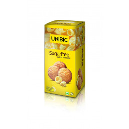 Unibic Butter sugar free...