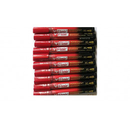 Flair Permanent Marker Pen Red