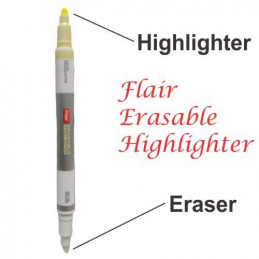 Flair Erasable Highlighter...