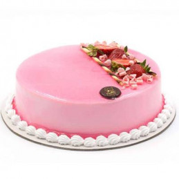 Strawberry normal cake