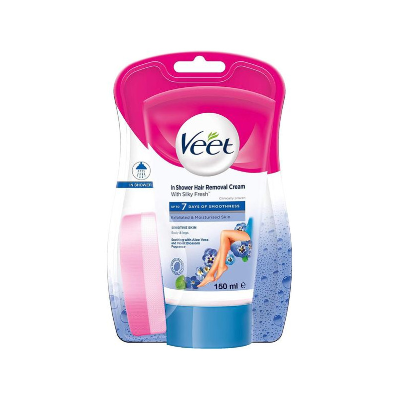 Buy Rb Veet In Shower Hair Removal Cream For Men Women