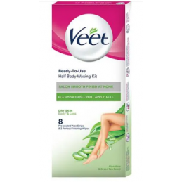 Buy Br Veet Hair Removal Waxing Strips Kit Dry Skin 8 Strips