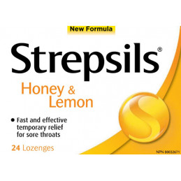 RB strepsils honey and...