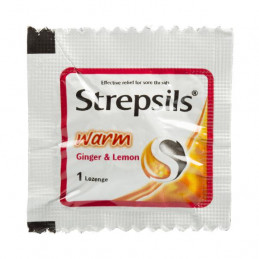 RB Strepsils Warm Ginger &...