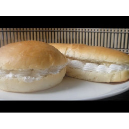 Cream bun(क्रीम बन्स)