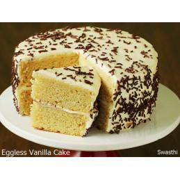 vanilla cool cake(वेनिला...