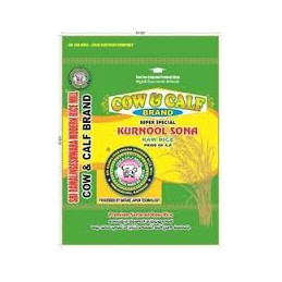cow & calf premium raw rice...