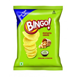 ITC Bingo cream & onion...