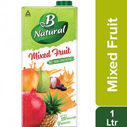 BNATURAL MIXED FRUIT 1000ML...