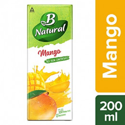 BNATURAL MIXED FRUIT 200ML...