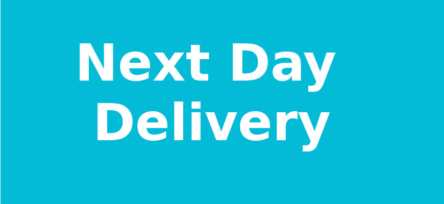 Next Day Delivery of all orders