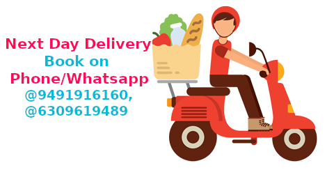 Home Delivery on Next Day - Book on Phone or Whatsapp