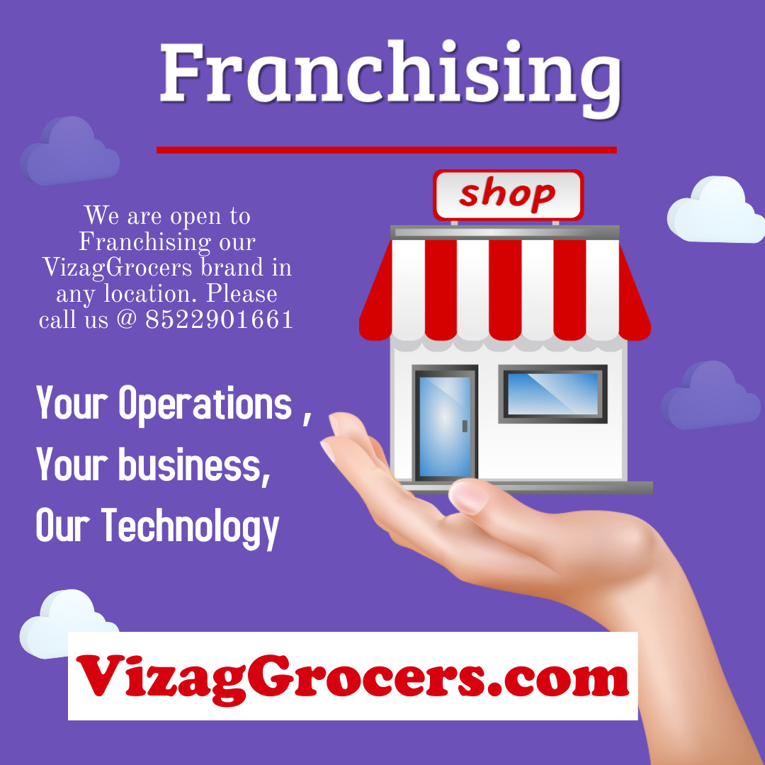 Franchising Opportunity with VizagGrocers.com